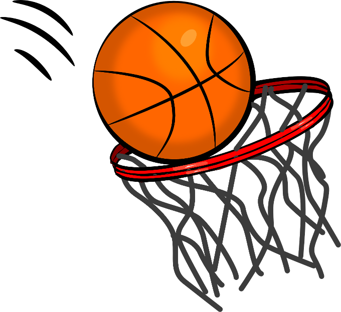 Hoop clipart baskeball. Basketball