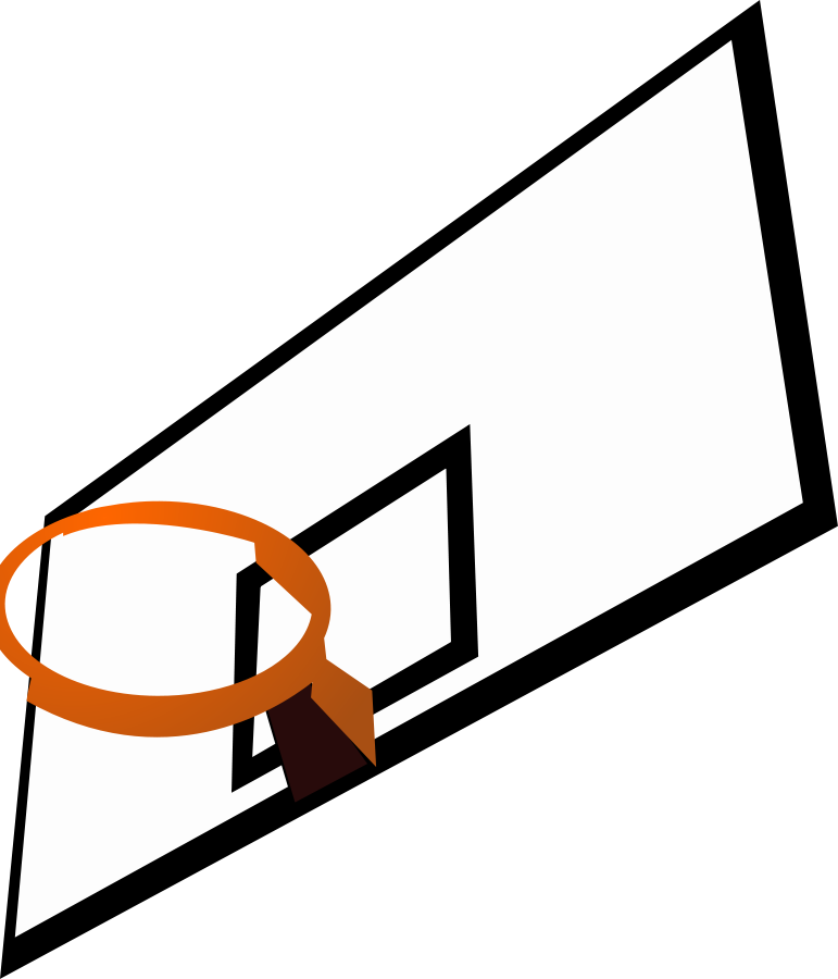 Court clipart. Free animated basketball hoop