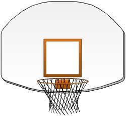 Basketball clipart basketball hoop. Court
