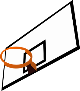 Hoop clipart basketball ring. Panda free images basketballhoopclipart