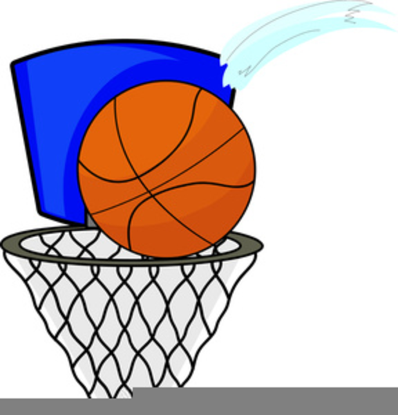 Hoop clipart large. Free basketball images at