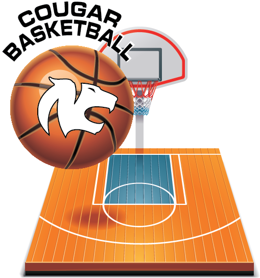 Hoop clipart varsity basketball. Cougar team is preparing