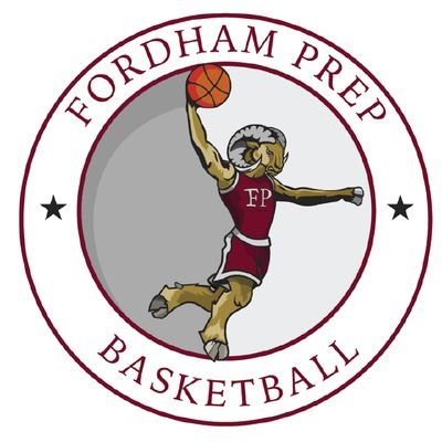 Hoop clipart varsity basketball. Fordham prep hoops on
