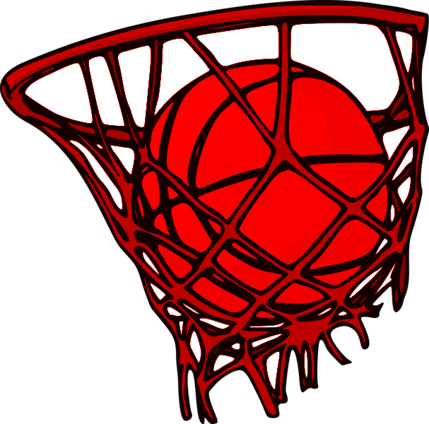 Hoop clipart varsity basketball. Girls postville community school