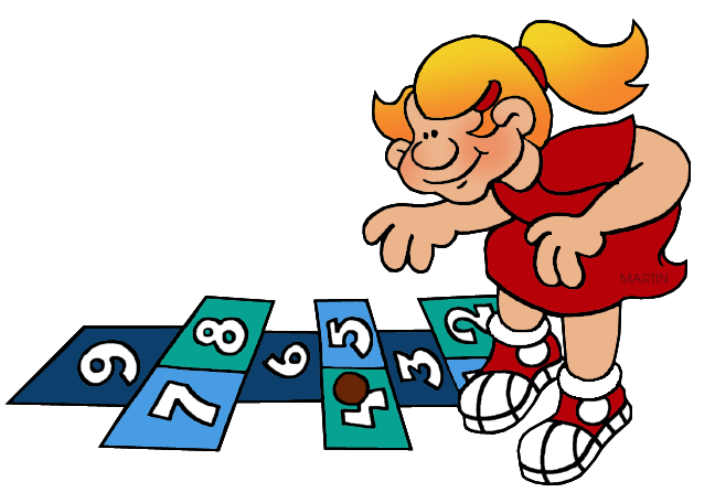 Hopscotch drawing clipart. Image group toys and