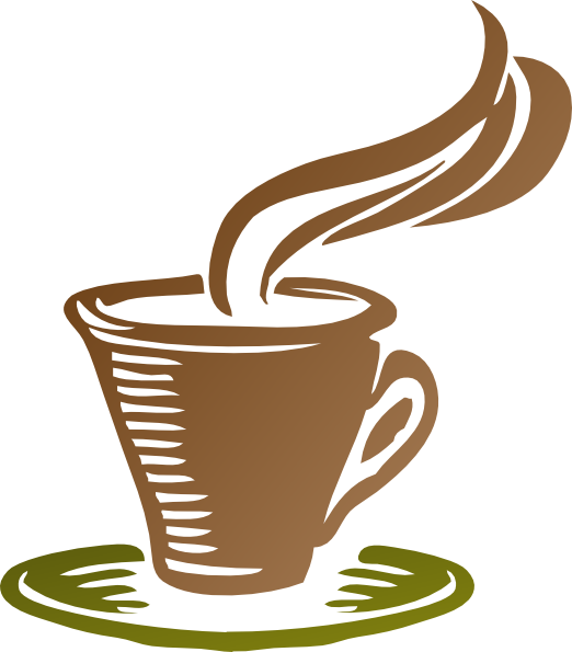 Free picture of a. Horizontal clipart coffee clipart black and white stock