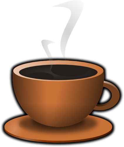 Steam clipart coffee morning. Free picture of a