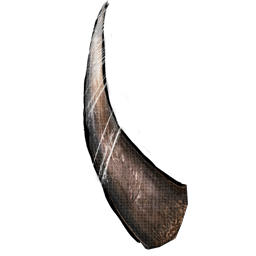 Horns png. Woolly rhino horn official