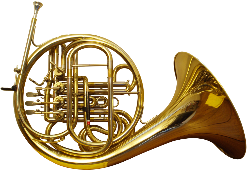 french horn png