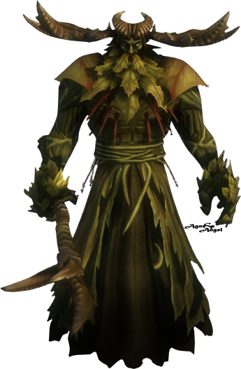 Horned god png. Image from screenshot by