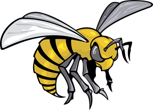 Wasp vector svg. Alabama state hornets logo