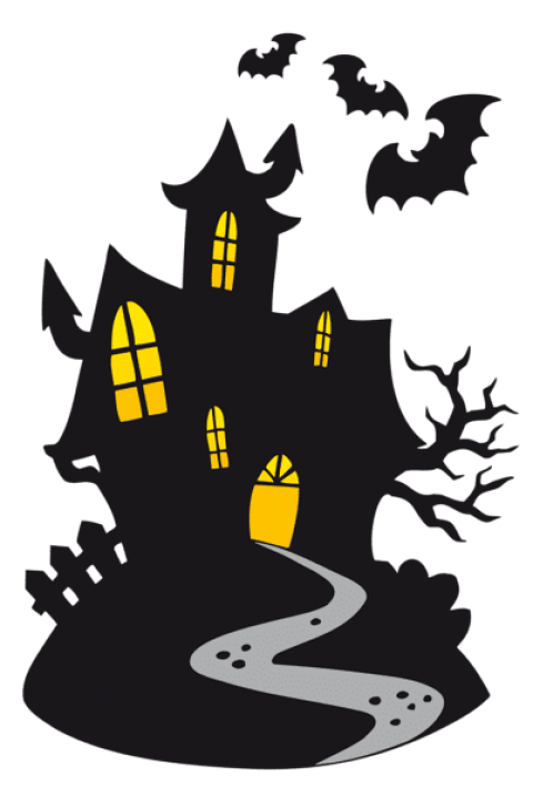 Horror vector castle. Haunted png free images