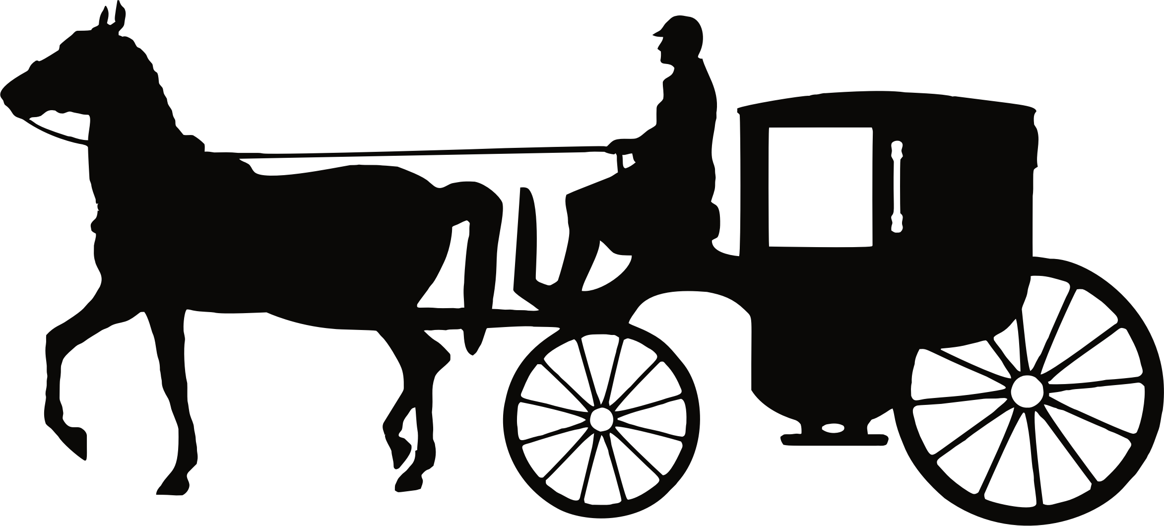 Horse and carriage png. Collection of clipart