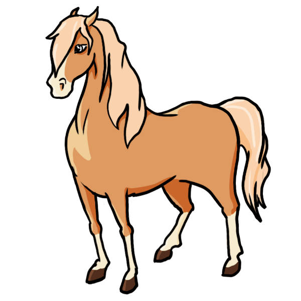 Sales drawing horse