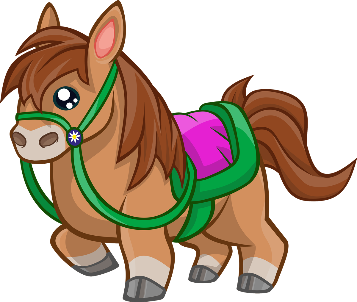 Free to use public. Horse clip art cute banner download