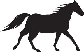 Horse clip art. Free clipart and stock