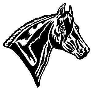 Horse clip art clear background. Crematory clipart panda free