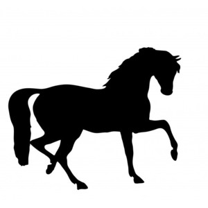 Horse clip art clear background. Silhouette images at getdrawings