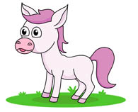Horse clip art cute. Free clipart pictures graphics