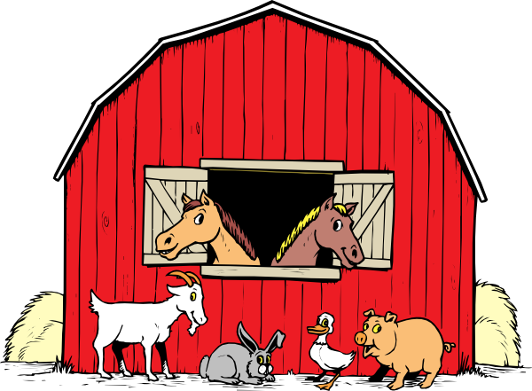 barn clipart horse shelter