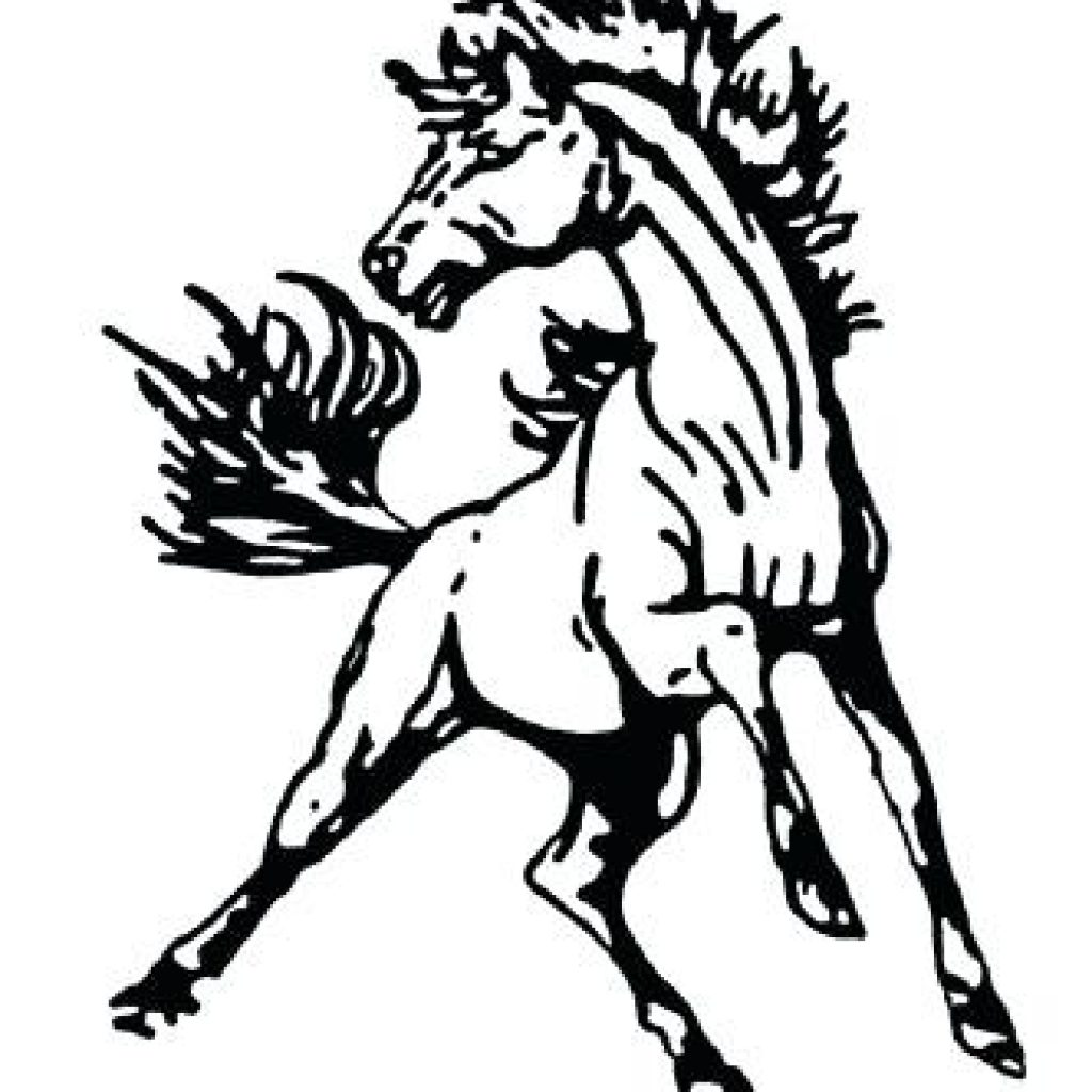 Horse clip art mustang. Clipart frog hatenylo com