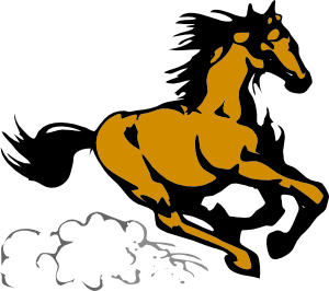 horses clipart mustang horse
