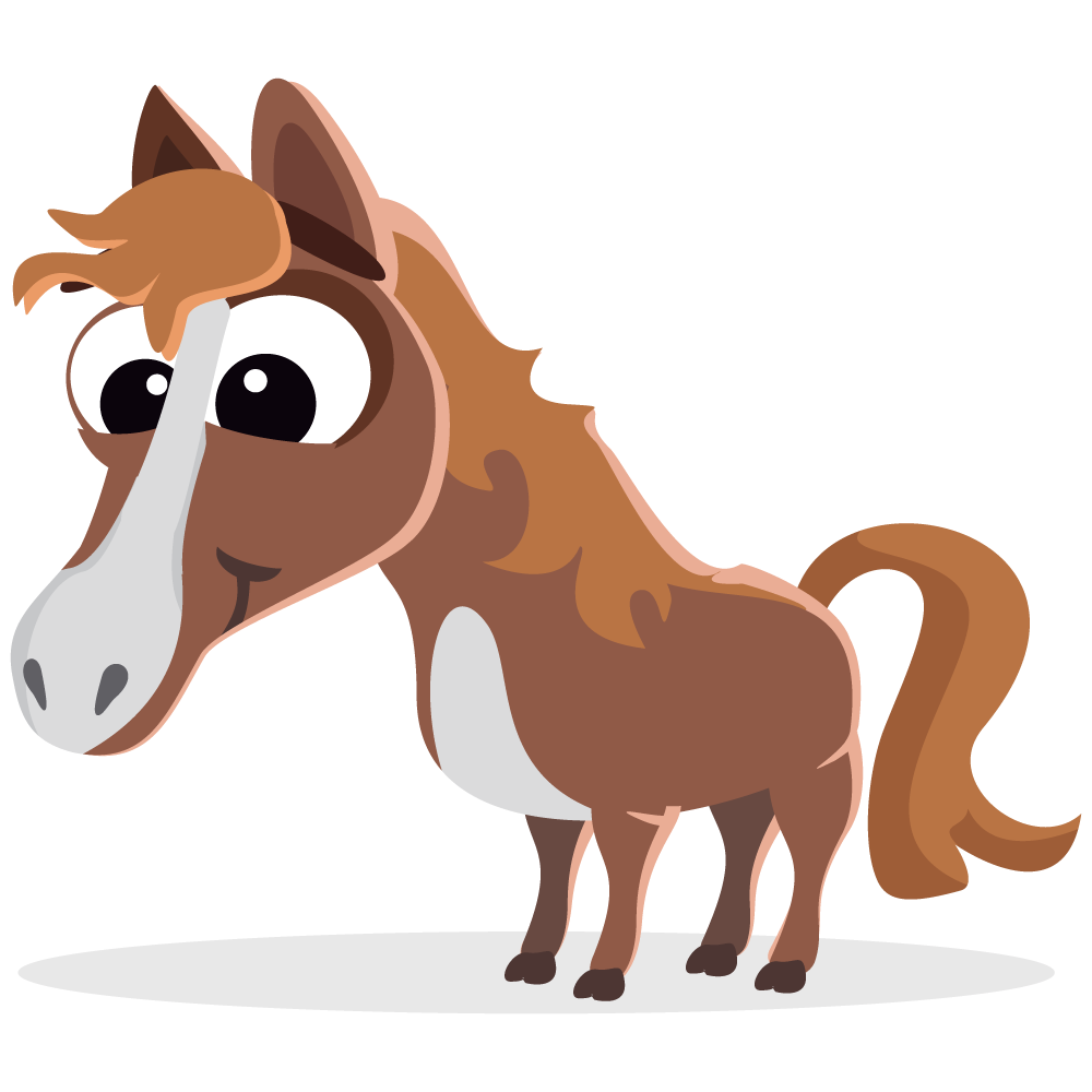 Horse clip art pretty horse. Free to use public