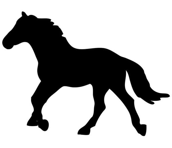 Horse clip art transparent background. Silhouette at getdrawings com
