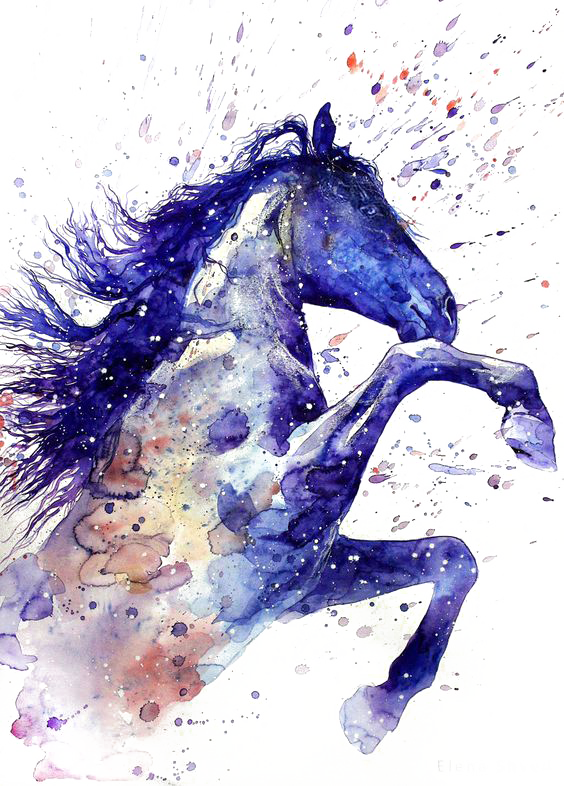 Horse clip art watercolor. Download tattoo ritmeester painting