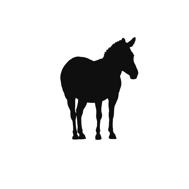 Animals background paper cutting. Horse clip art wild horse graphic library library