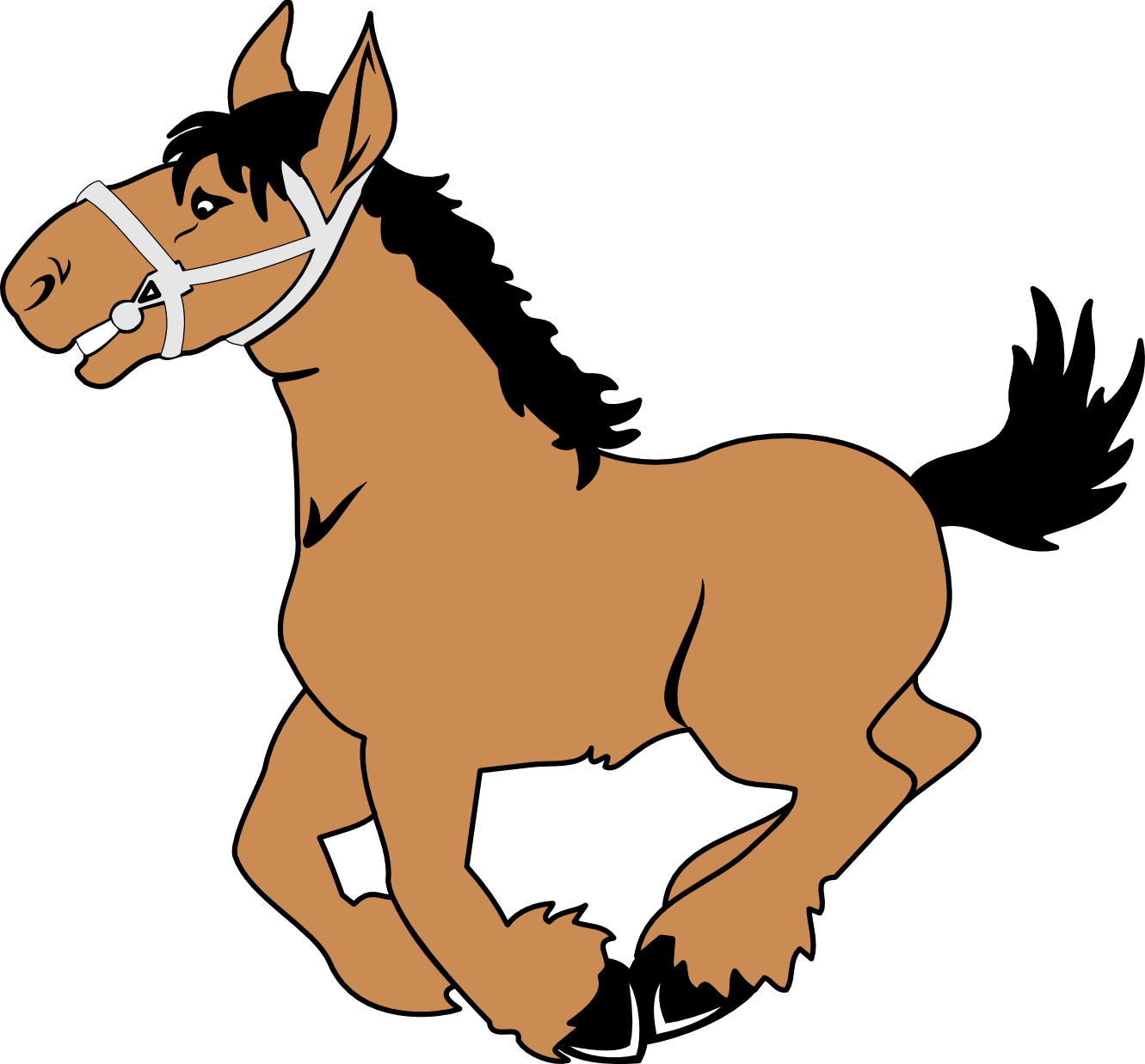 Halloween horse at getdrawings. Riding clipart banner free library