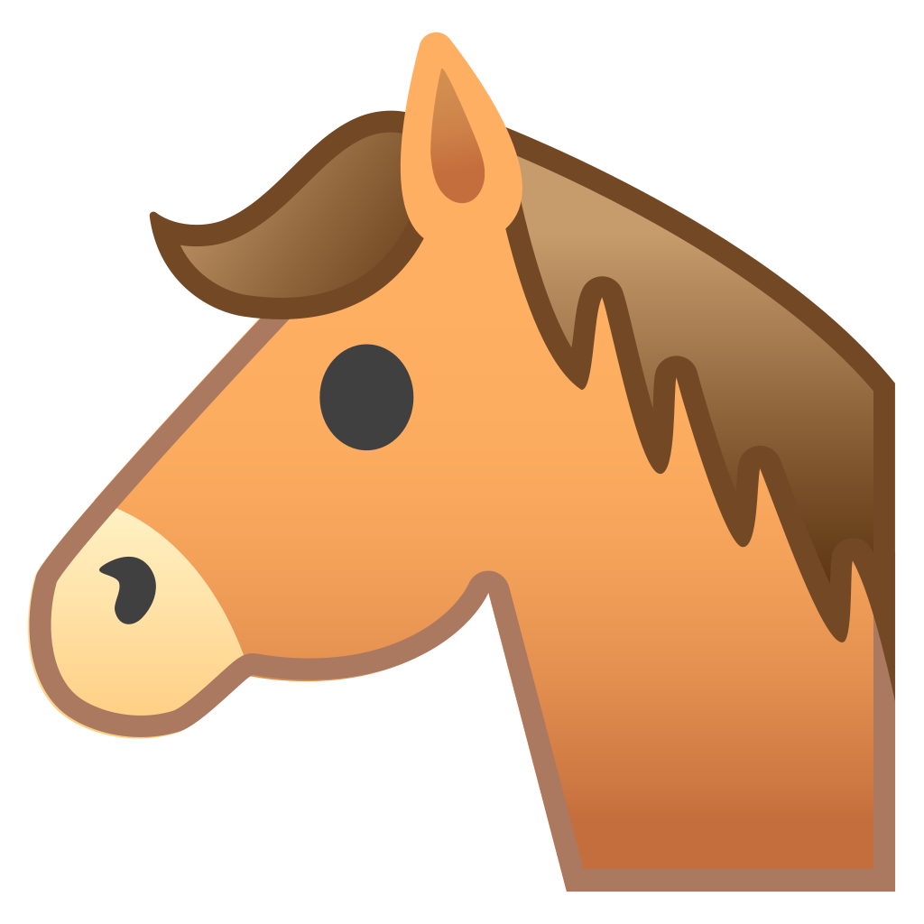 Horse face png