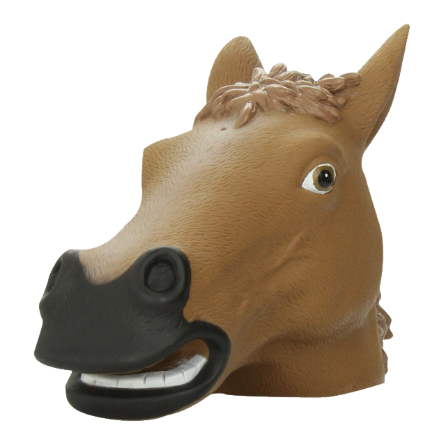 Horse head mask png. Squirrel gray wolf unicorn