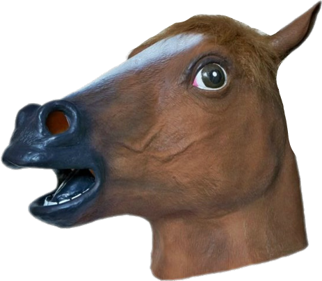 Horse mask png. Sticker by semiramis