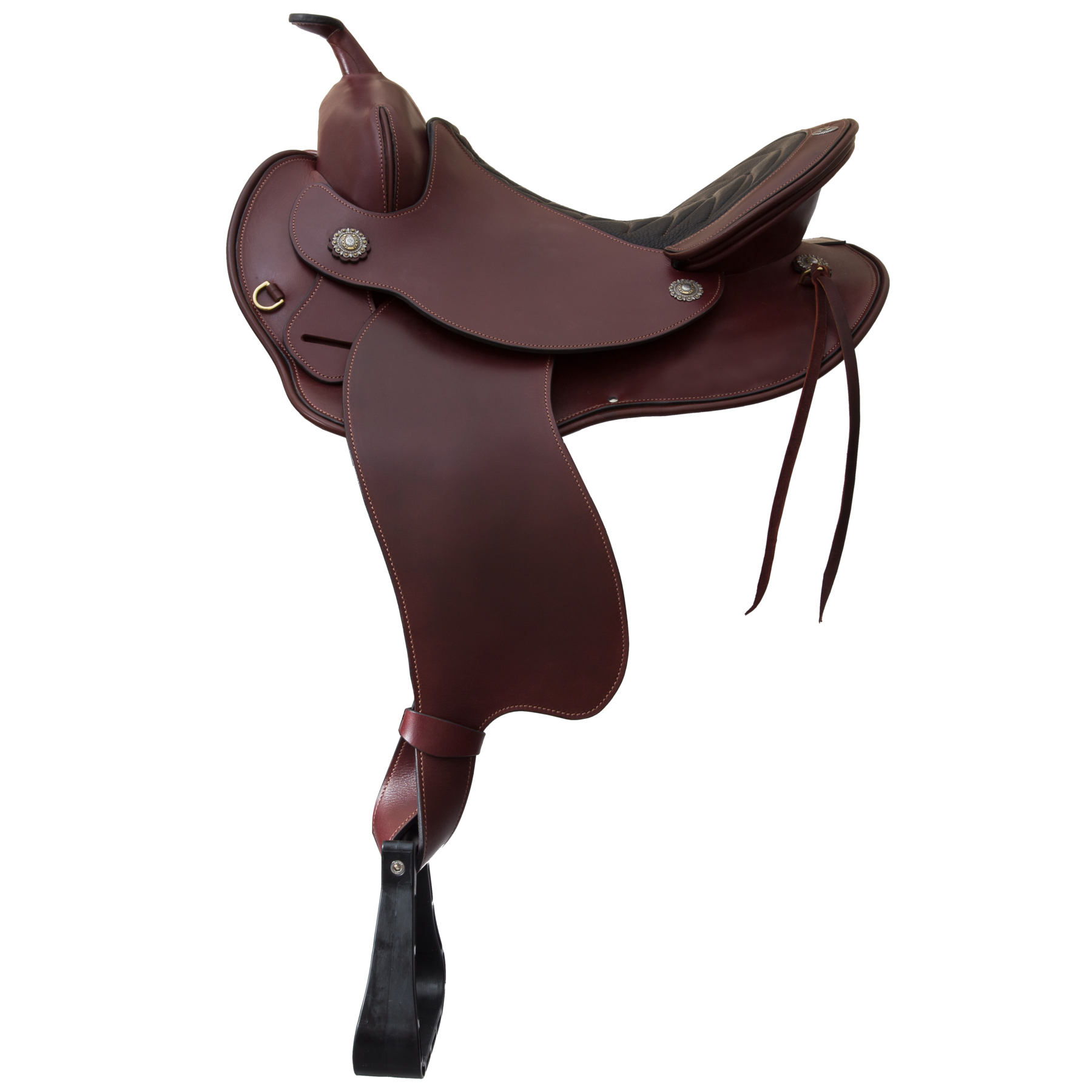 Horse saddle png. Devin western trail schleese