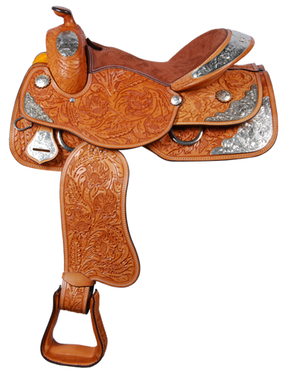 Horse saddle png. Western rawhide show