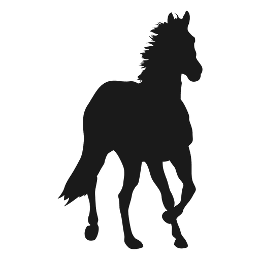 Horse silhouette png. Transparent svg vector