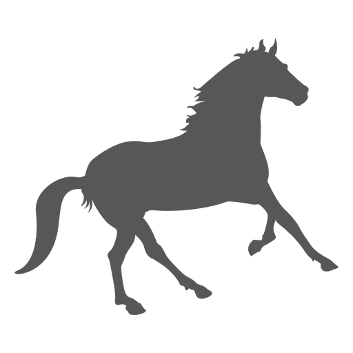 Horse vector png. Running icon silhouette transparent