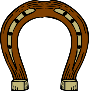 Horseshoe vector png. Western clipart