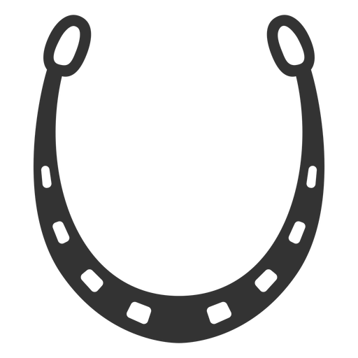 Horseshoe vector png. Icon silhouette transparent svg