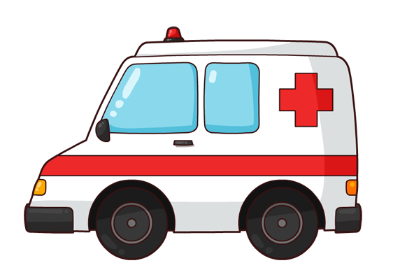 Ambulance clipart ambulance officer. At hospital