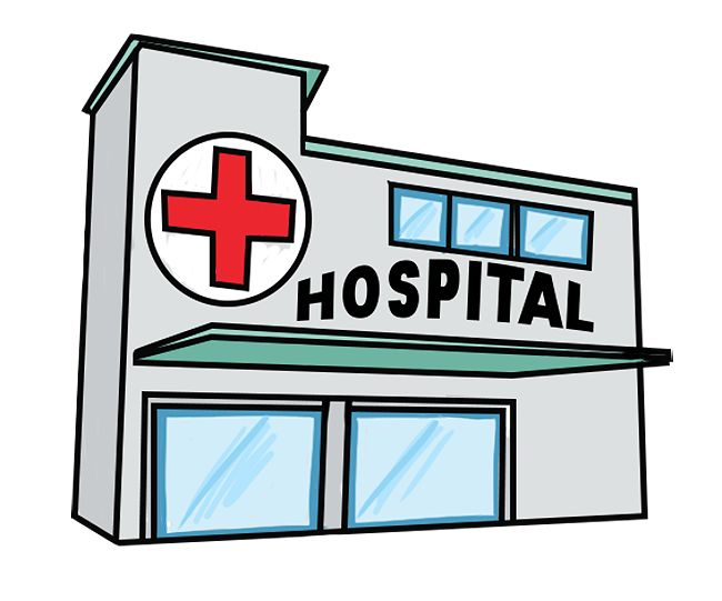 Hospital clipart places. Category pictures id