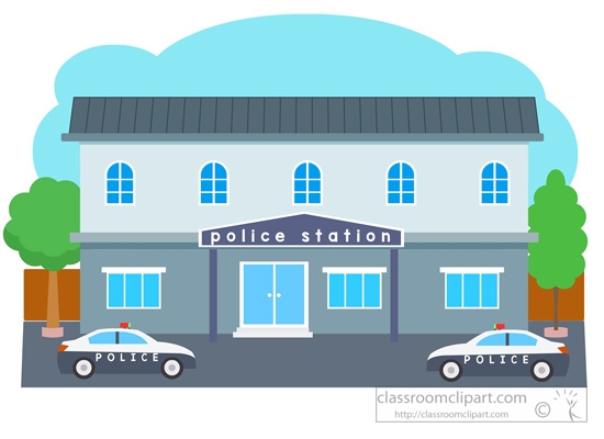 Clip art for students. Police clipart police station png royalty free library