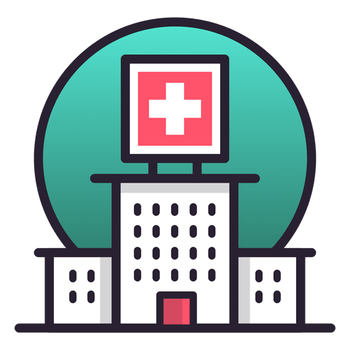 Hospital transparent. Building icon png svg