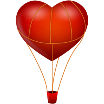 ballon drawing love balloon