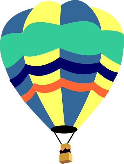 Hot Air Balloon Clip Art Outline | Clipart Panda - Free Clipart ...