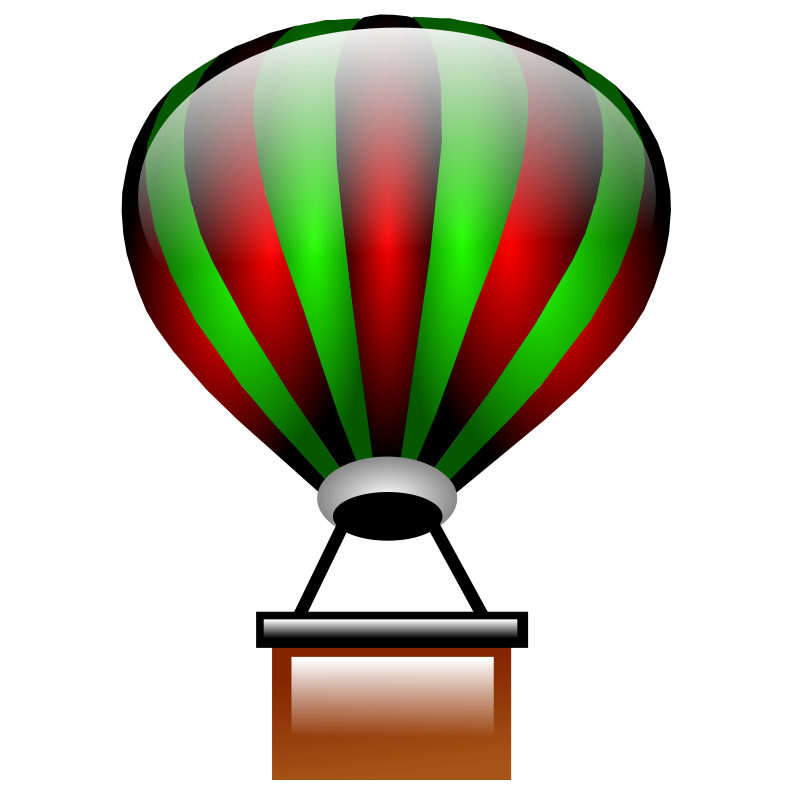 Hot air balloon clipart png. Clip art panda free