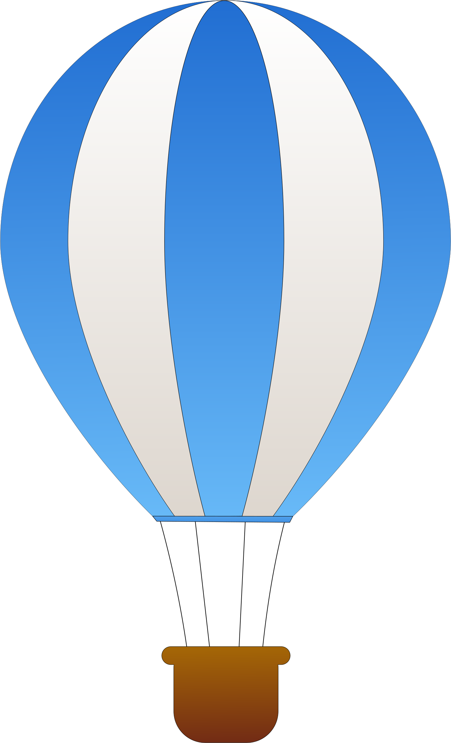 Hot air balloon .png. Vertical striped balloons icons