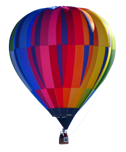 Hot air balloon png. Transparent image pngpix banner black and white