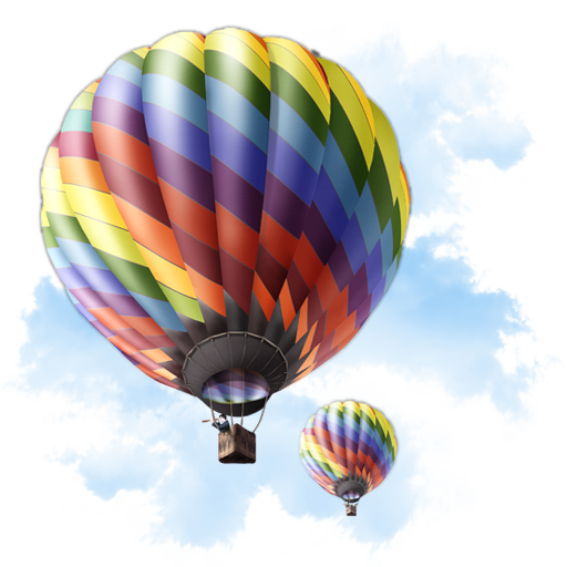 Hot air balloon .png. Icon free icons download